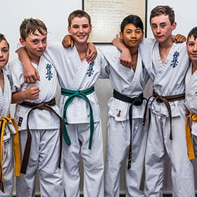 rma total fitness juniors in different belts colors