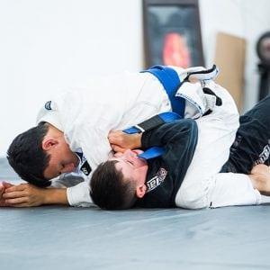 brazilian junior jiu jitsu fight demonstration