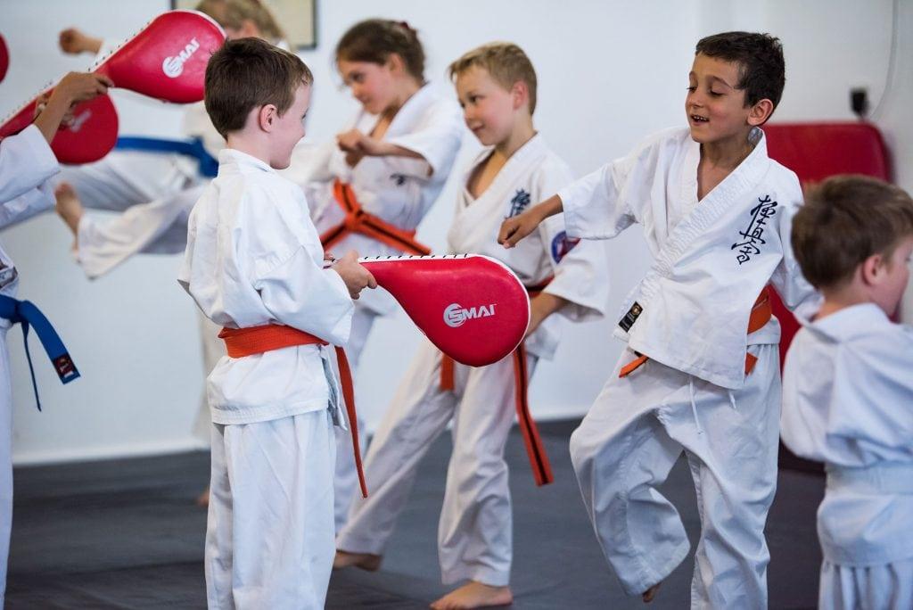 rma total fitness little lions kyokushin training