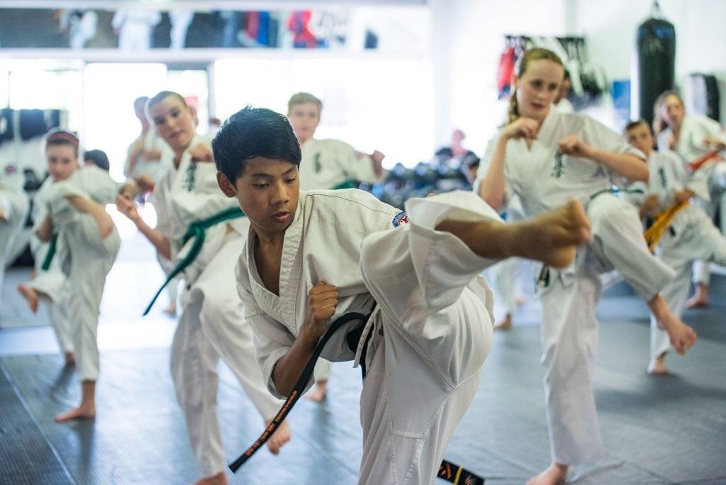 rma total fitness young lions kyokushin training