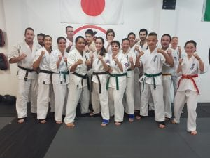 training with shihan penita at rma total fitness