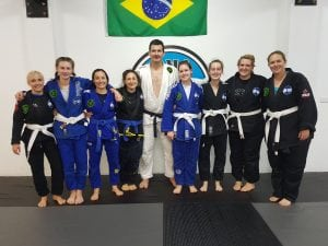 bjj girls after grading at rma total fitness